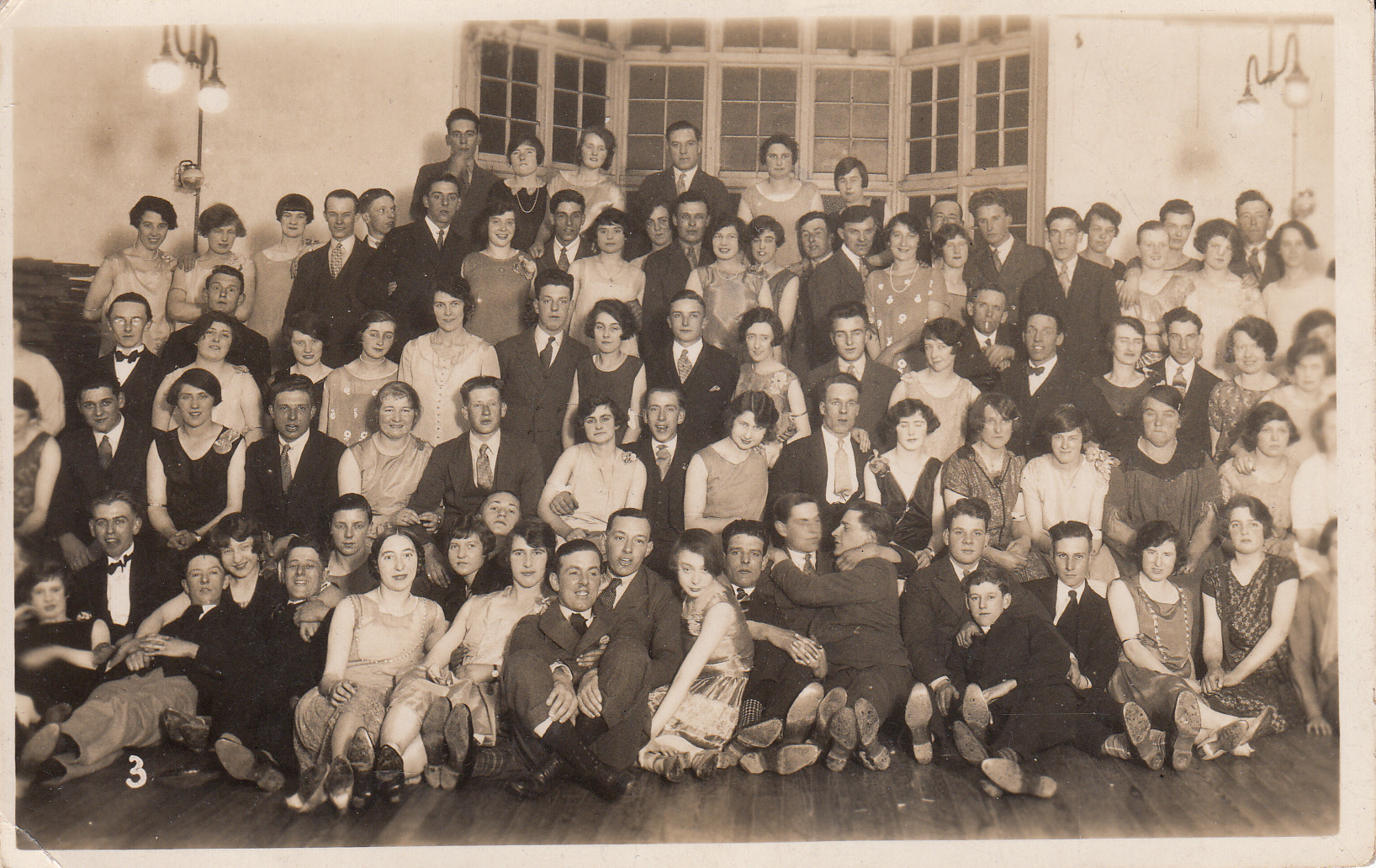 1930s dance in Hall